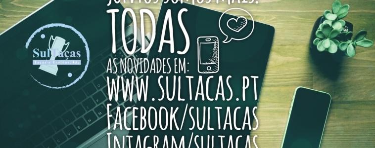 As nossas redes sociais