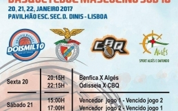 final4 distrital de Basquetebol Masculino Sub 18